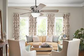 kichler graystone ceiling fan 300243bap living room