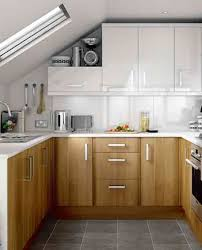 Modern Wooden Kitchen Designs Modern U Shaped Kitchen Design Idea Small Kitchen With White