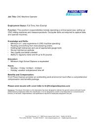 Free Download Machine Operator Resume Objective Examples