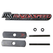 mazdaspeed emblem. 3d metal mazdaspeed front grill racing emblem badge decal sticker for mazda mx5 d