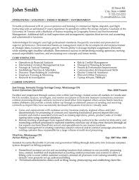 Senior Operations Specialist Resume Sample & Template
