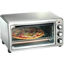 hamilton beach convection oven reviews toaster ovens 6 slice stainless steel larger front