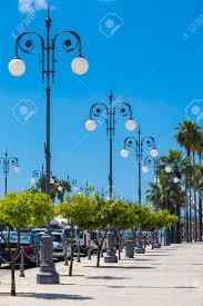 Special Lights Larnaca Wrought Lanterns On The Larnaca Seafront Cyprus Larnaca City