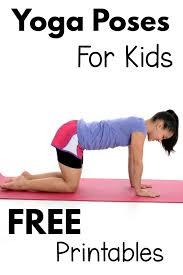 Yoga Chart Free Free Printable Yoga Poses Chart Kayaworkout Co