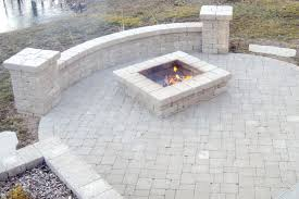 patio with square fire pit. Perfect Fire Square Fire Pit Patio Brick With Pictures Ideas Throughout Patio With Square Fire Pit A