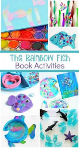 book activities to go with the rainbow fish by marcus pfister