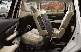 subaru ascent rear seating