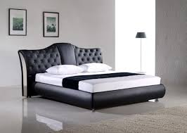 Modern Bed Frames Black Leather : The Holland - Most Cozy And Modern ...