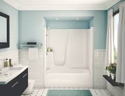 Tub Shower Combos 60 Tub Shower Combo 60 W One Piece Tiled Whirlpool Tub Shower