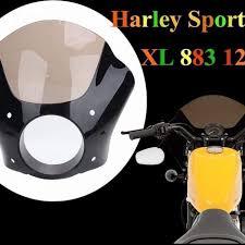 7 headlight fairing motorcycle head light mask with windshield for harley chopper cafe racer honda cb 200 goldwing msia senarai harga 2019
