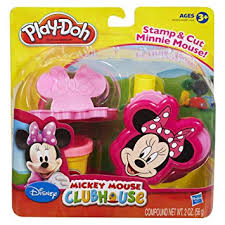 play doh mickey mouse clubhouse set minnie