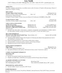 Resume For Personal Trainer Fitness Instructor Resume Sample