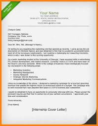 8 Resume Cover Letter For Internship The Stuffedolive Restaurant