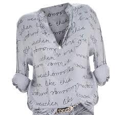 Yocheerful Womens Plus Size Shirt Tee Top Blouse Long Sleeve Tunic Fall Workwear