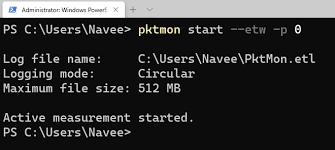 windows network sniffer pktmon dev