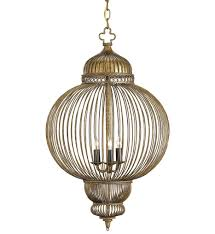 currey company 9137 giltspur 3 light chandelier with rustic gold antique black undefined