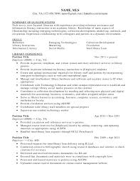 Librarian Resume Examples Therpgmovie