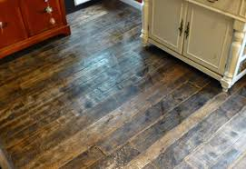 Kitchen Floor Wood Barnwood And Bangles Reclaimed Wood Kitchen Floor