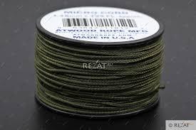 Микрокорд Atwood Rope MFG Atwood Rope MFG Micro Cord Olive ...
