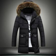 new mens winter jackets coats youth long section plus size canada cotton down jacket slim thicken