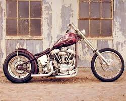 buy chopper buck lovell vintage motorcycle biker wall decor art