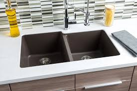 hahn brown granite extra large 60 40 double bowl sink