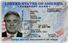 Us Passport What Card A Is
