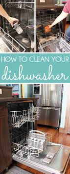 How To Clean A Dishwasher Drain Diy With Style How To Clean A Dishwasher Blue I Style