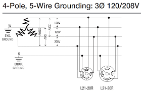 how to install 3 phase timer 3 phase 4 wire 208 volts across line to line