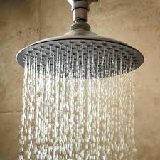 rain shower head with arm oil rubbed bronze and hose set grohe rain shower head