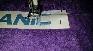 How To Embroider Letters With Regular Sewing Machine