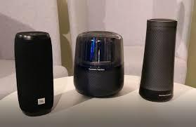 harman kardon allure. duo smart speaker harman ini bawa alexa dan google assistant kardon allure o