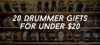 20 drummer gifts under 20 dollars