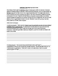 literary analysis essay graphic organizer teacherspayteachers a wrinkle in time literary analysis essay guide