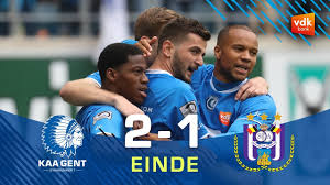 🎬KAA Gent - KRC Genk: 1-5 - YouTube