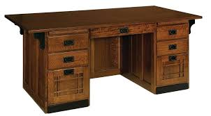 office desks wood. Wood Computer Desk Mission Craftsman Executive Office Furniture Amazing Solid For 8 Desks Small Spaces A