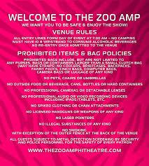 Okc Zoo Amp Seating Chart Faq The Zoo Amphitheatre The Zoo Amphitheatre