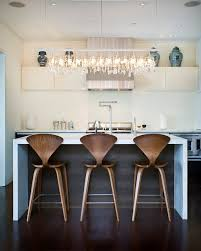 linear strand crystal chandelier contemporary kitchen marla intended for awesome house crystal linear chandelier ideas