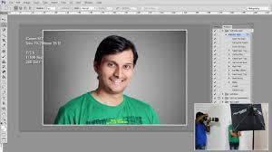 one flash light studio photography raw photo editing in photo cc tutorial hindi