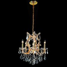 elegant 2800d20g rc maria theresa traditional gold 25 nbsp tall crystal chandelier lamp loading zoom