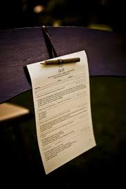25 best teacher themed wedding images on pinterest teacher Wedding Ideas Quiz school teacher wedding ideas a pop quiz ceremony program! wedding theme ideas quiz