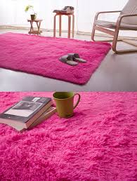 light pink fluffy area rugs for bedrooms