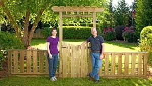fence gate recipe. Do It Yourself Fence Gate Recipe 1710
