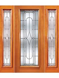 art deco beveled glass exterior door and two sidelite 76 75