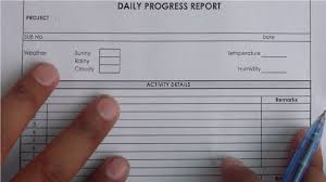 How To Write Daily Progress Report Construction Project In Urdu Hindi