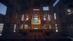 Modern House Interior Minecraft Modern House - Minecraft home interior
