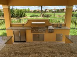 Custom outdoor kitchen by The BBQ Depot ...