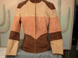metrostyle brown striped leather jacket las 6 used china