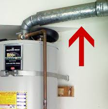 water heater flue venting san go code