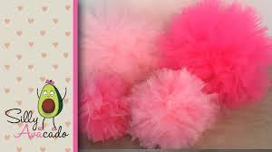 How To Make Fluffy Decoration Balls How to Make Tulle Pom Poms Last Longer Than Tissue Paper Pom Poms 17
